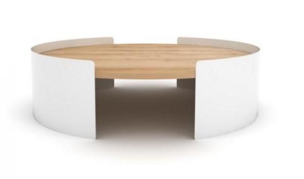Thin Salontafel Ethnicraft : Unique ethnicraft table basse fantastique